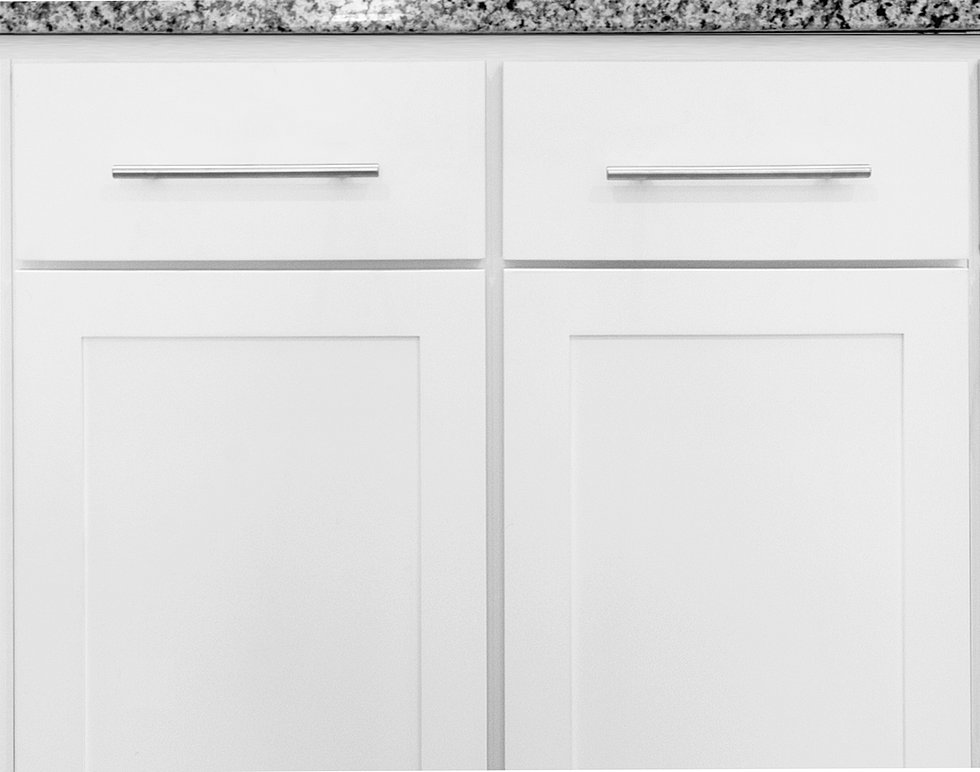 HASTONE Cabinetry and Countertops - White Shaker Cabinets