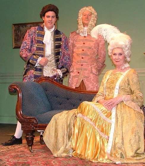 Mrs Hardcastle in She Stoops to Conquer