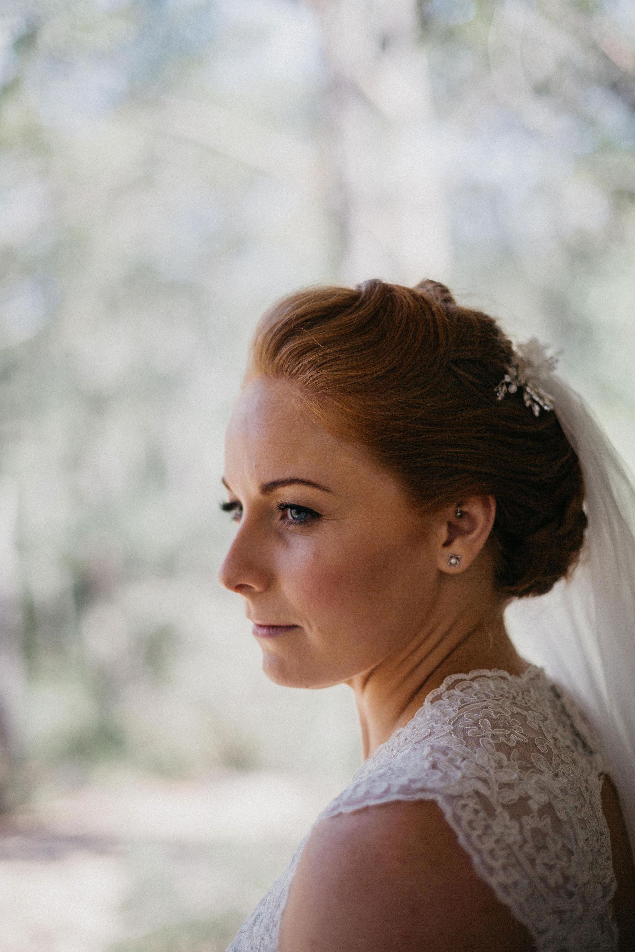 Bridal up do