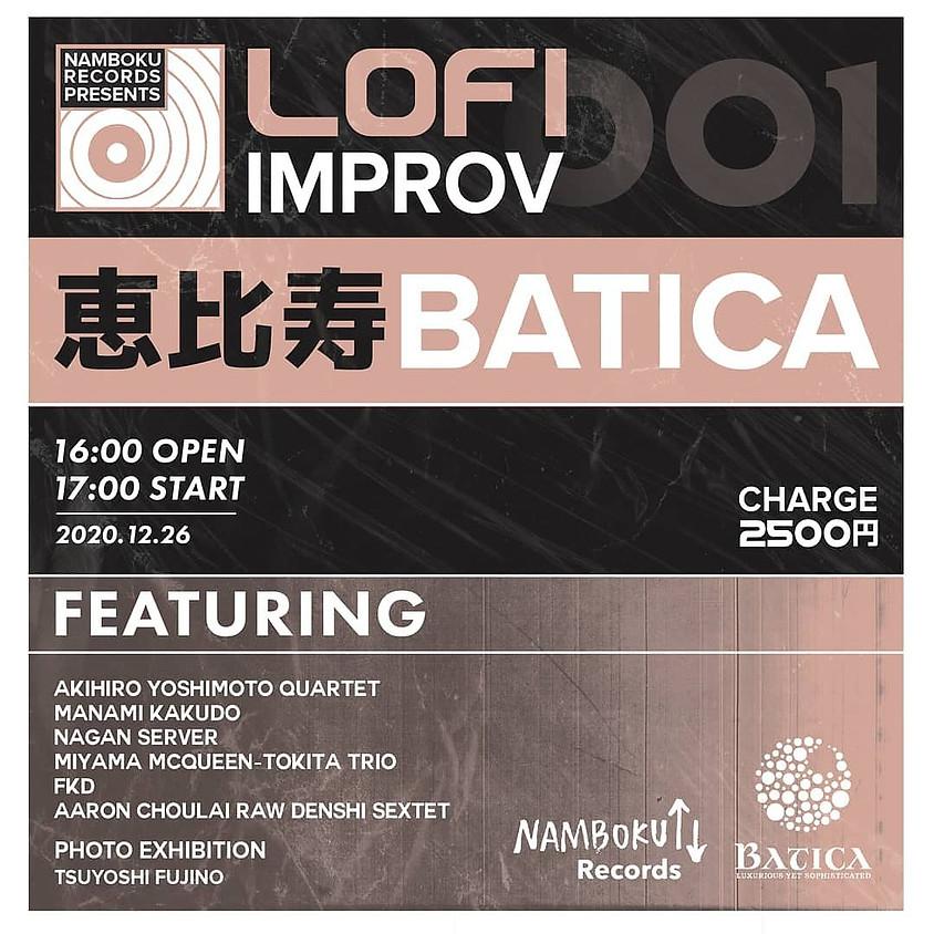 Namboku Records Presents: LO-FI IMPROV