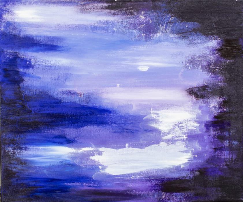 Moon light Tiina Miinalainen 2017 46x55c