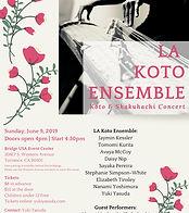 LA Koto Ensemble Concert