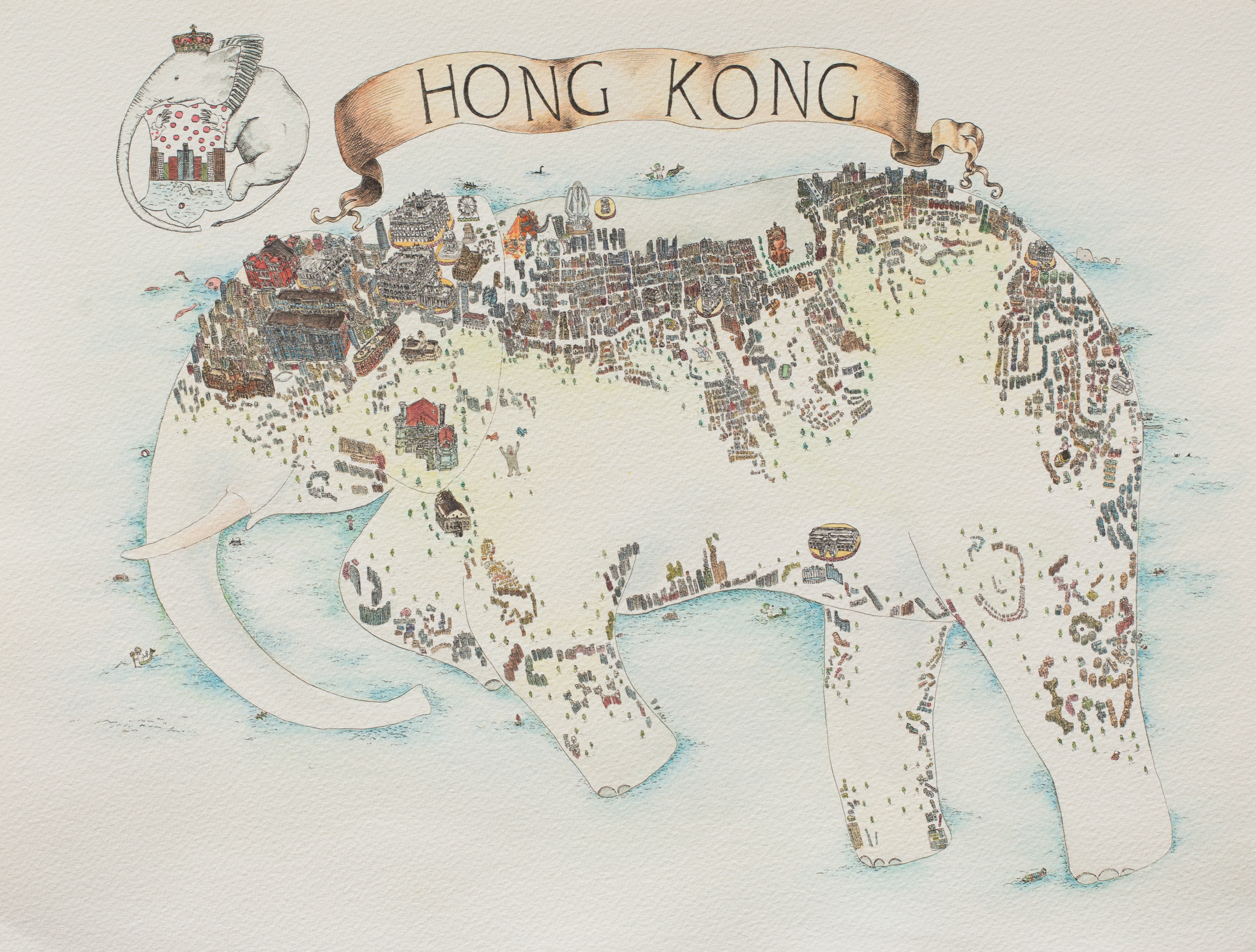 Hong Kong Map II
