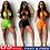 Thumbnail: New Women Summer Solid Bikini Set Bandage Swimsuits Hollow Out High Waist