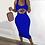 Thumbnail: New Summer Fashion Leopard Lips Sleeveless S-5xl Plus Size Dress Sexy Casual