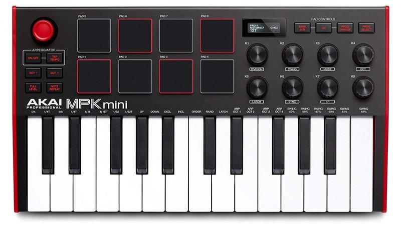 Akai Professional MPK Mini MK3 MKII  25 Key Portable USB MIDI Drum Pad