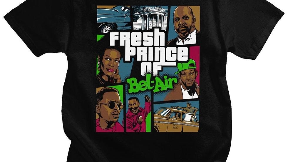 Funny Fresh Prince of Bel Air T-Shirt Men Short Sleeve T-Shirt