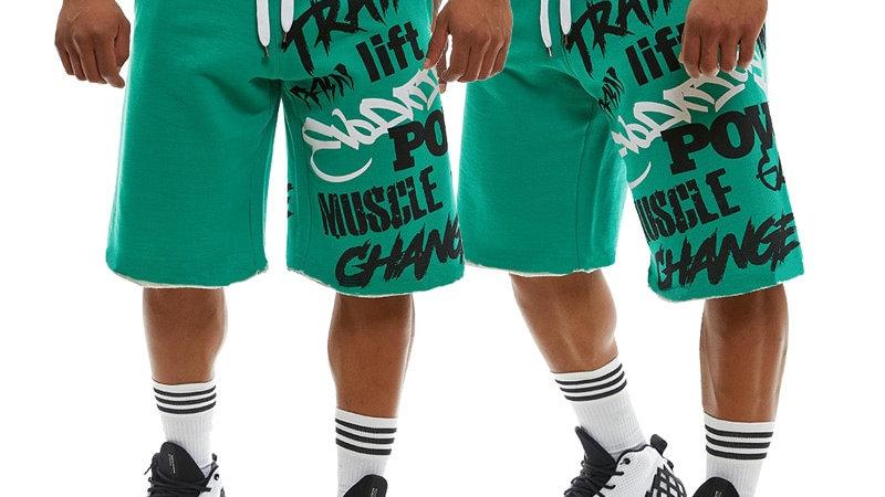 New Men's Loose Sweat Shorts