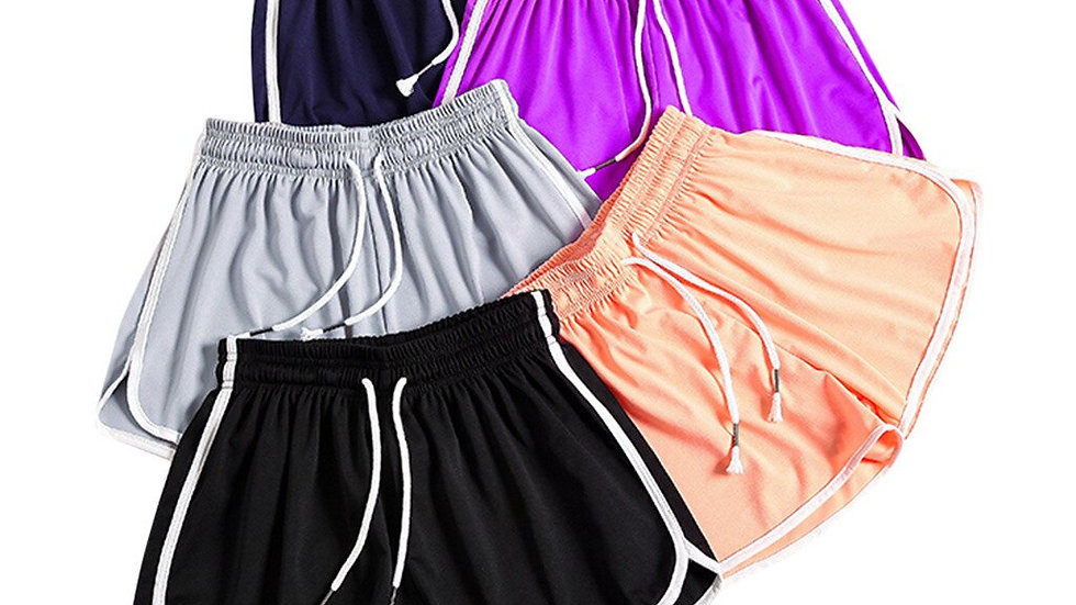 Women's Casual Biker Shorts Elastic Tight-Fitting Shorts for Fitness Summer