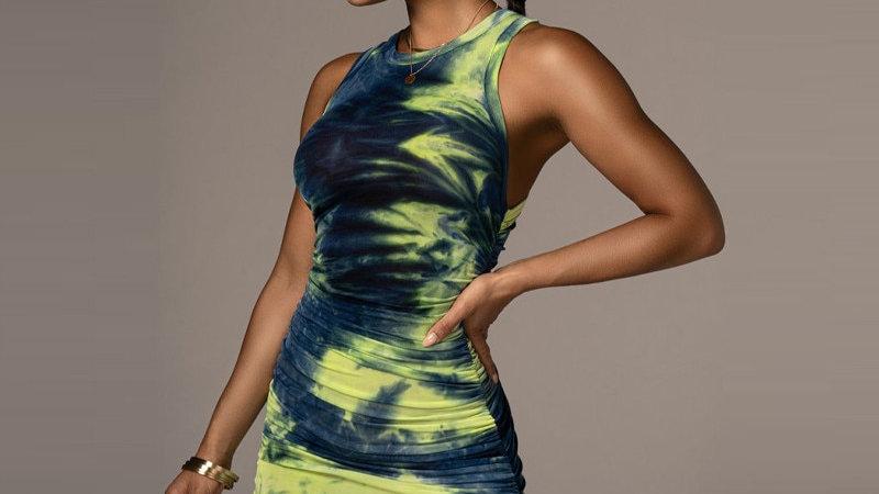 Women Autumn Summer Sleeveless  Slim Hip Dress Sundress 2021 Female  Streetwear