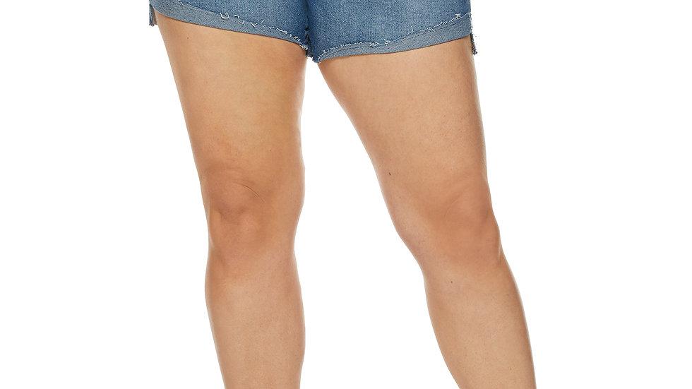 Sofia Jeans by Sofia Vergara Plus Size Lila Cuff Shorts