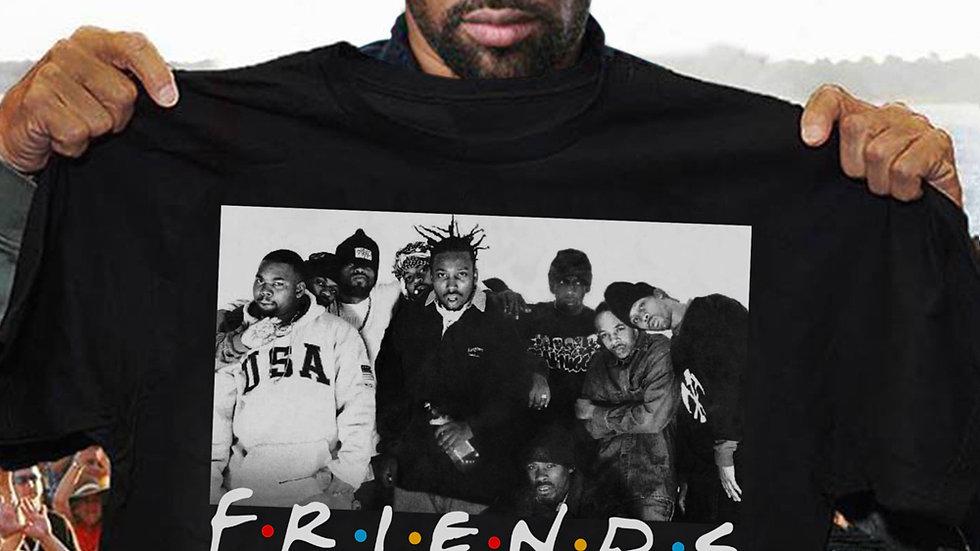Wu-Tang Clan Friends TV Show T-Shirt Vintage