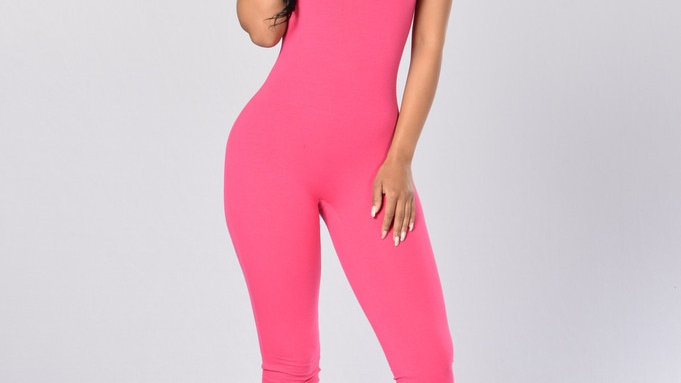 Women's Sleeveless Vest One-Piece Fashion Sexy Long Tight-Fitting Halter