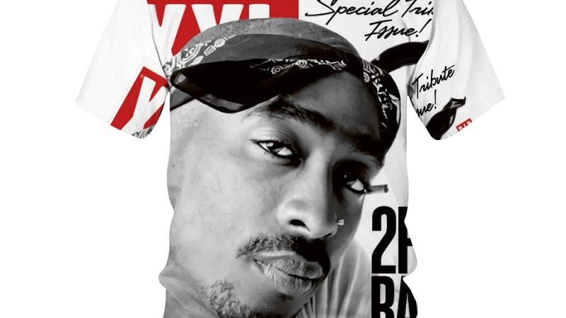 2Pac T-Shirt Rapper Star Tupac 3D Print Streetwear Men Women T-Shirts