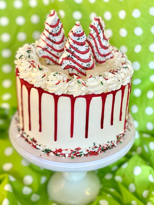 Lil' Debbie Christmas Tree Cake