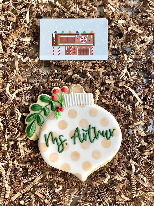 Cookie w/ Gift Card Set
