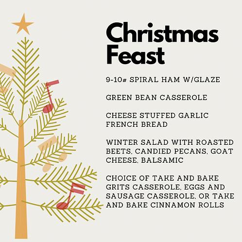 Family Christmas Feast