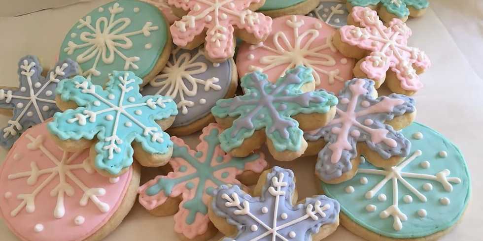 Winter Themed Cookie Decorating Class