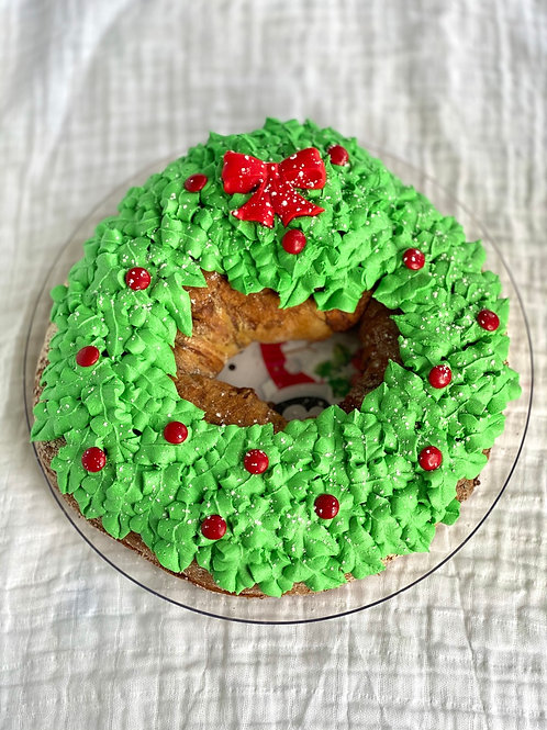 King Cake Wreath