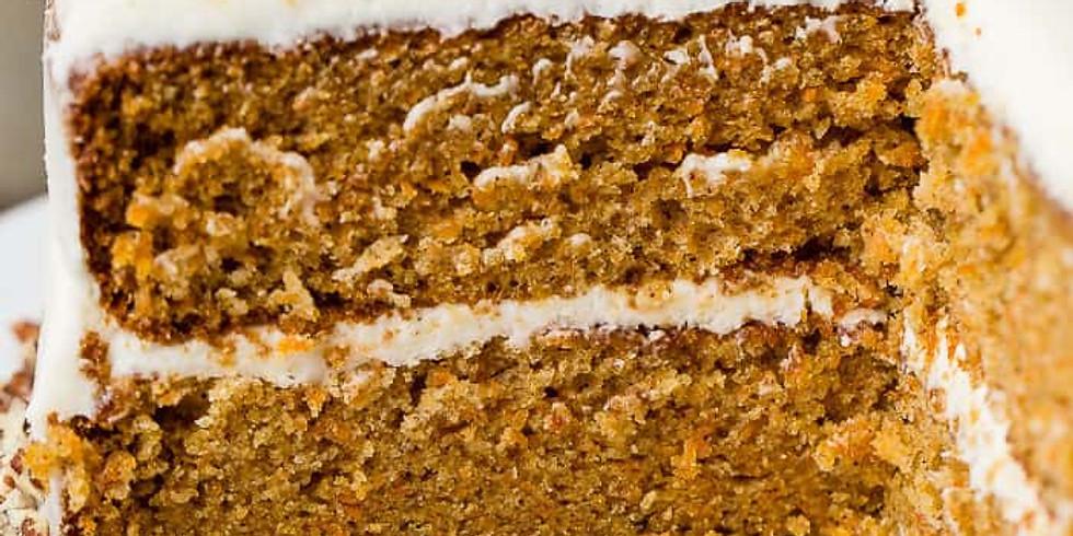 Homemade Carrot Cake Class