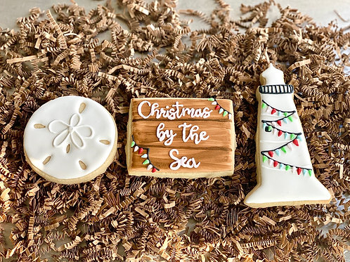 Christmas by the Sea Cookie Set