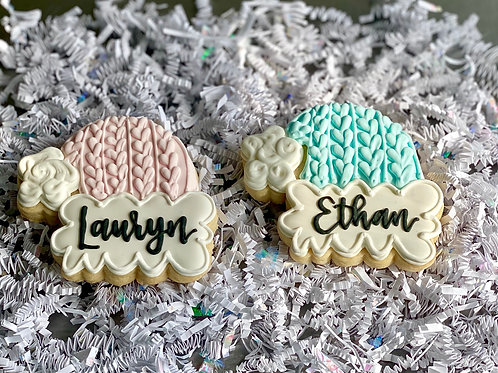 Personalized Hat Cookie