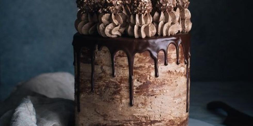 Nutella Stuffed Chocolate Cake Class