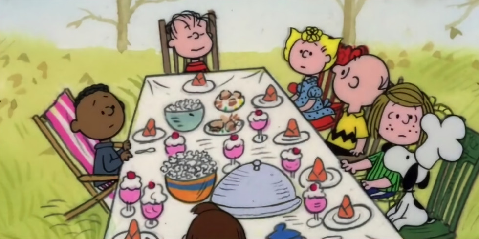 Charlie Brown Thanksgiving Kid's Cooking Class