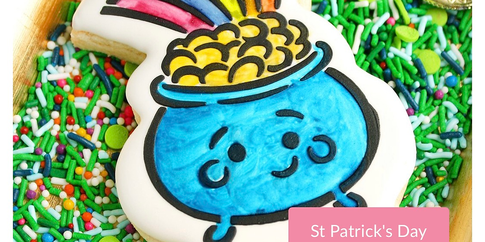 Paint Your Own St. Patrick's Cookie!