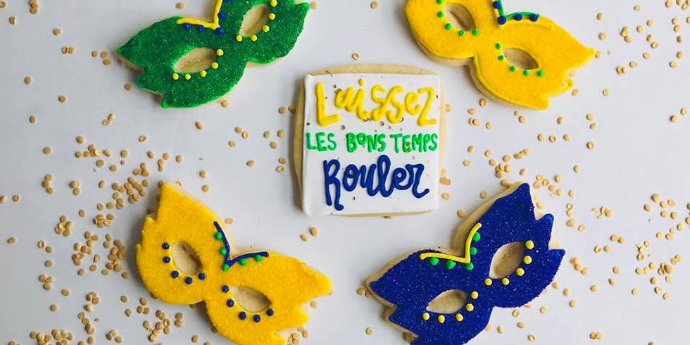 Mardi Gras Cookie Decorating Class
