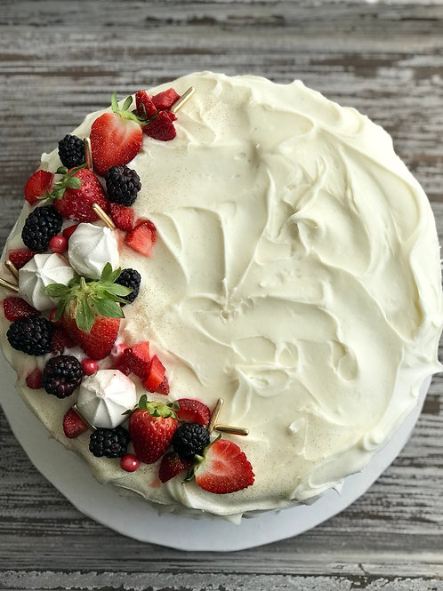 Mixed Berry Chantilly
