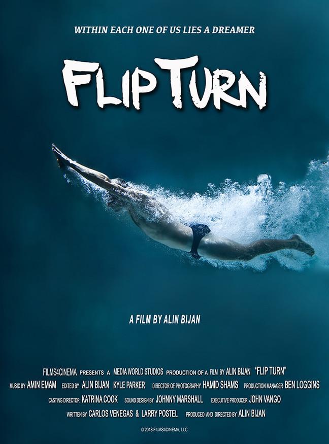 CASTING EXTRAS: FLIP TURN /Dallas TEXAS / Swimming Movie