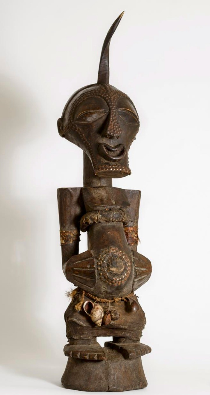 Songye Fetish Power Figure (Nkisi)