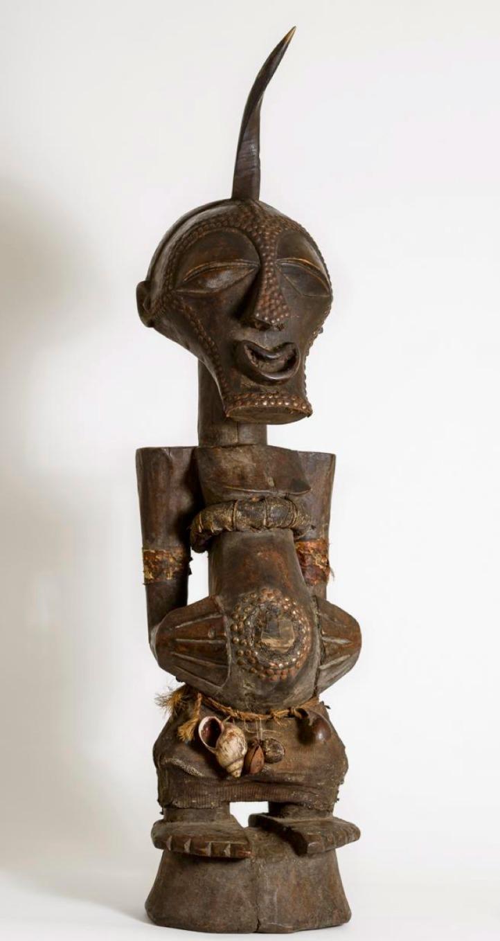 Songye Fetish Power Figure (Nkisi)
