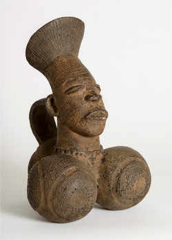 Terra Cotta Vessel - Woman with Hips