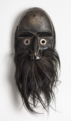 Ceremonial Mask With Beard