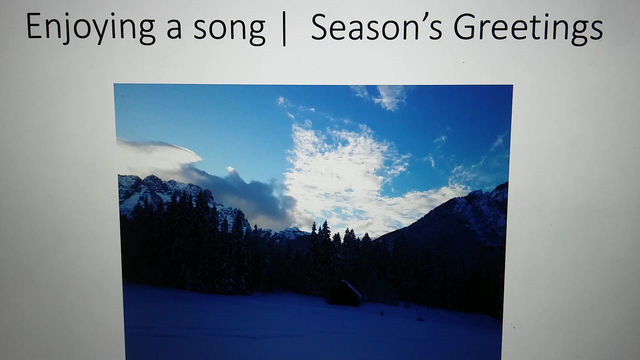 Season's Greetings to all of you !
