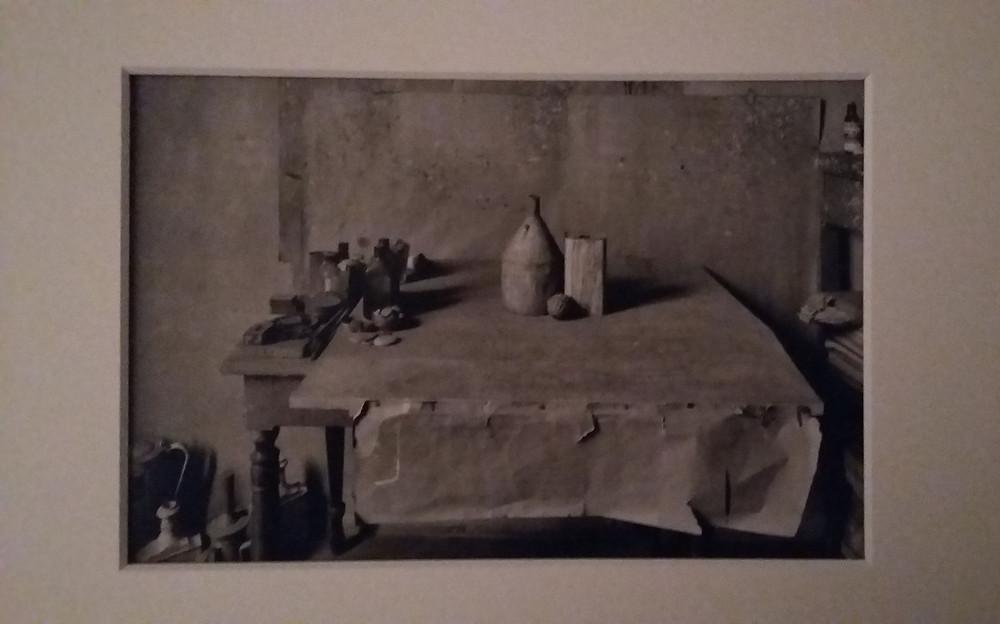 Atelier Giorgio Morandi Ph Gianni Berengo Gardin