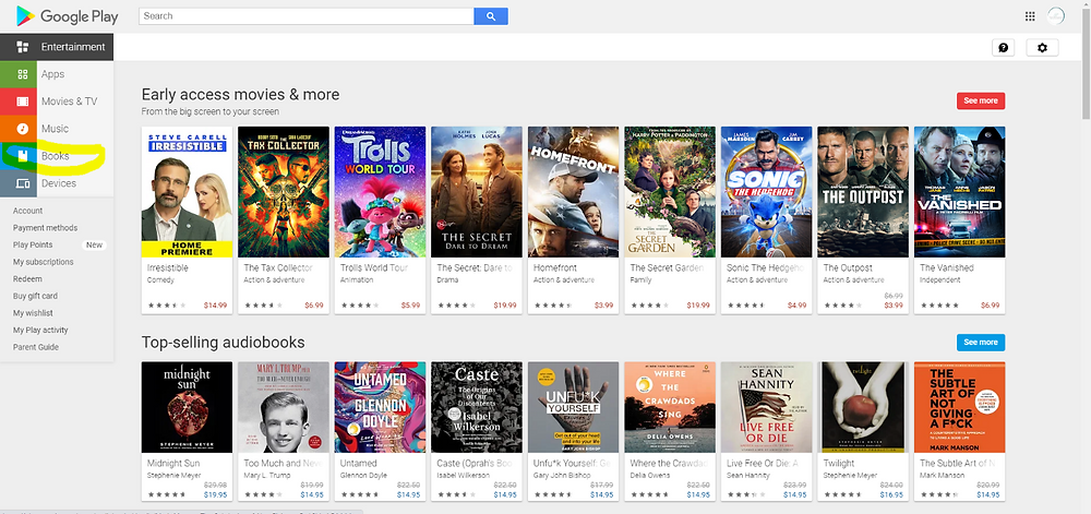 how to sell your book on google play author authors self-published