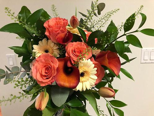 Bouquet corail