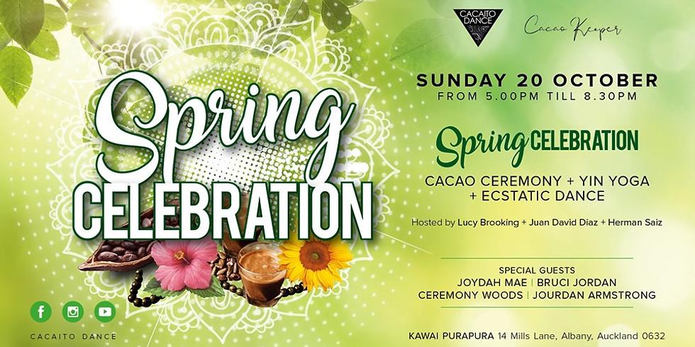 Spring Celebration - Cacao + Yin + Ecstatic Dance