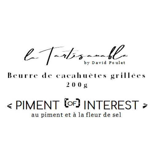 Beurre de cacahuète | piment