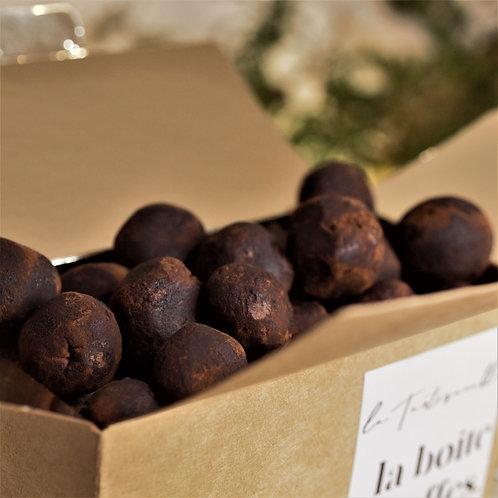 La boîte de truffes
