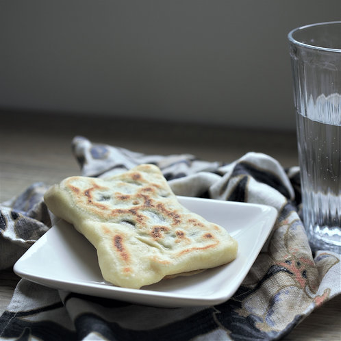 Crêpe algérienne (Mhadjeb) à la pâte à tartiner
