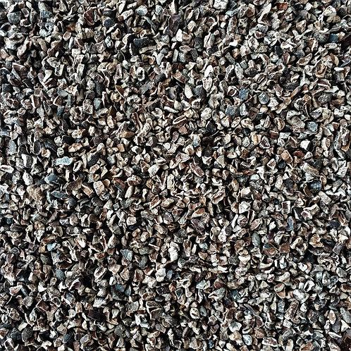 Fèves de cacao torréfiées concassées