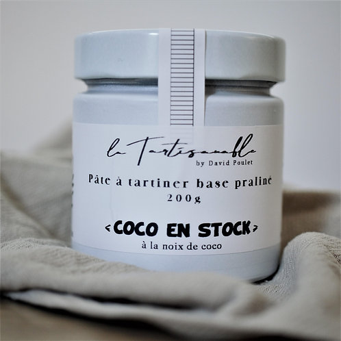 Pâte à tartiner | chocolat blanc | coco