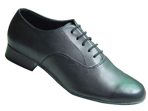 Beat St Men's Ballroom Shoe - Black Calf