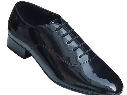 Beat St Men's Ballroom Shoe - Black Patent