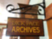 Dick Pace sign.JPG