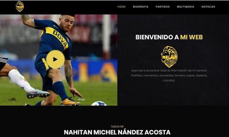 Nahitan Nández crea su marca personal.